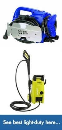 Best pressure washer for wheelie garbage bin cleaning