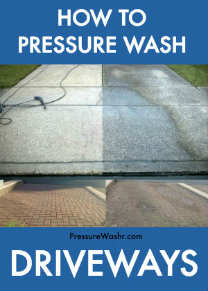 Driveway Pressure Cleaning Before After Intro Image