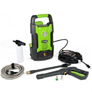 Greenworks gpw1501 light duty pressure washer