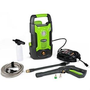 Greenworks gpw1501 light duty pressure washer