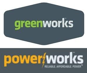 Greenworks Powerworks Pressure Washer Logo By Globe Tools Co