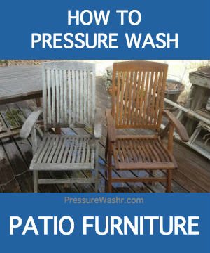How To Clean Your Outdoor Patio Furniture With A Pressure Washer
