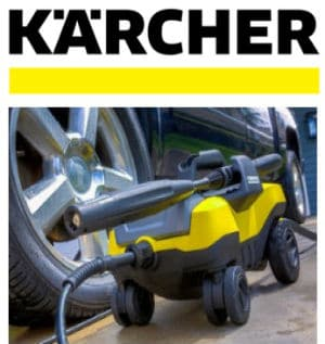 Karcher pressure washer intro image