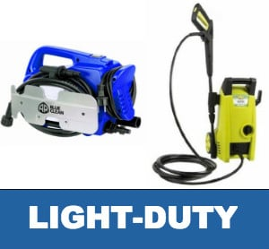 Light Duty Pressure Washers Image