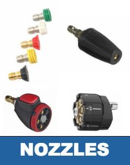 Pressure Washer Nozzles 101