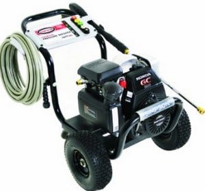 Simpson MegaShot 3100 PSI Gas Pressure Washer