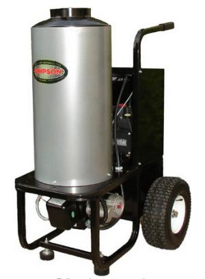 Simpson Mini Brute Hot Water Pressure Washer