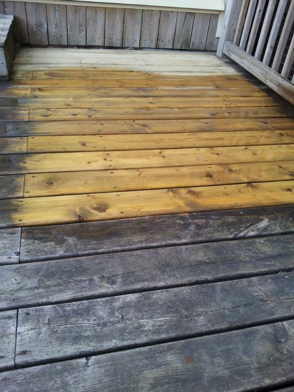 Pressure Cleaning Wood1