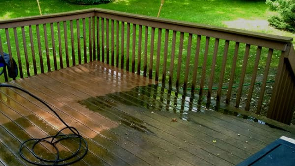 Pressure Washing Wood5