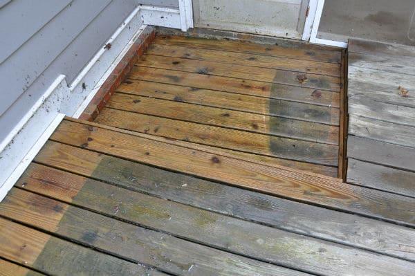 Pressure Cleaning Wood7
