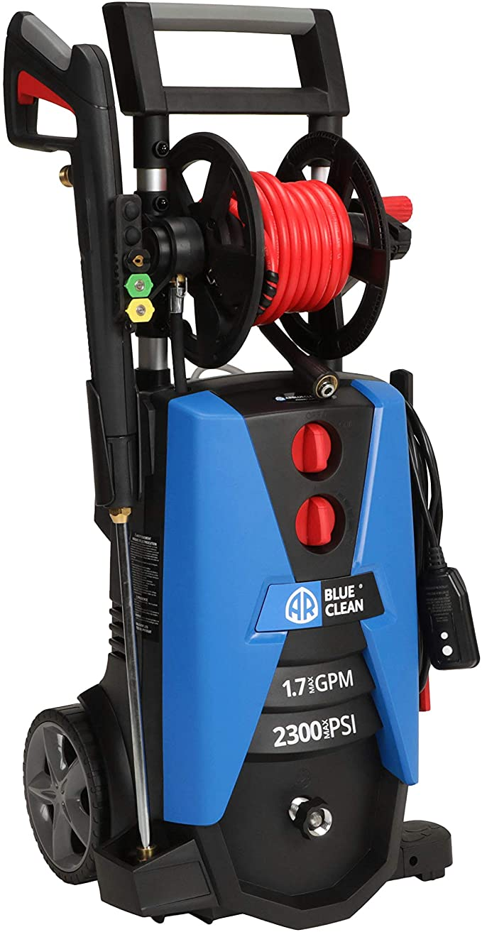 arblue clean bc390Hss electric pressure cleaner for deck