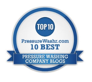 Best Pressure Washing Company Blogs Badge