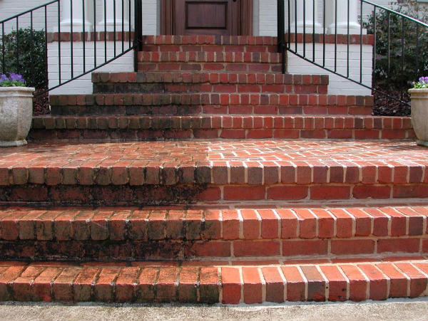 Pressure Washer Uses Front Steps