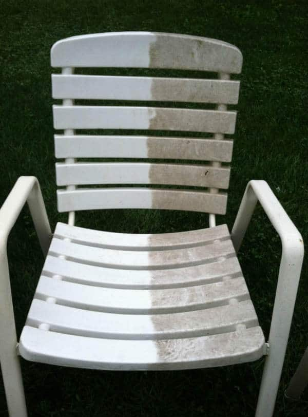 Pressure Washer Uses Patio Furniture
