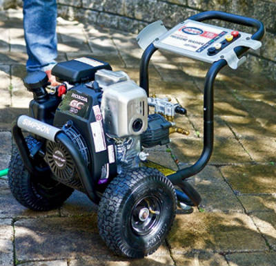 Simpson megashot pressure washer use best
