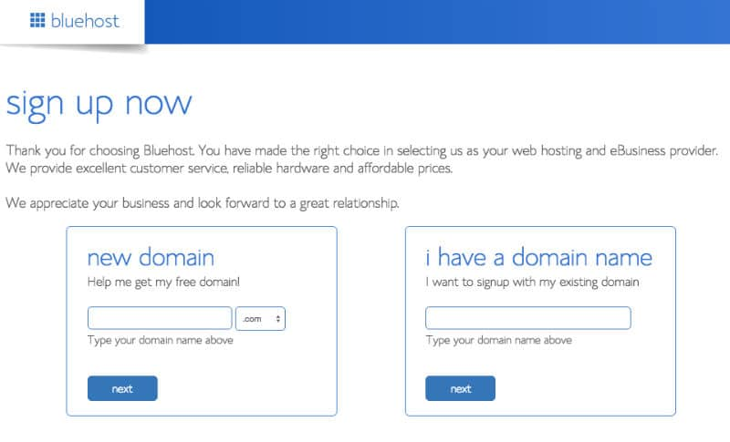 Bluehost Review Image 3