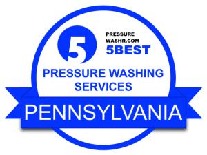 Pressure Washing Services Badge PENNSYLVANIA