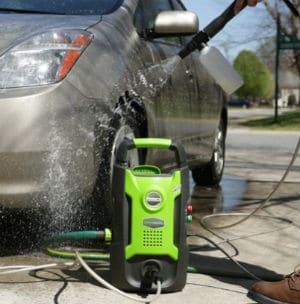Cheap Greenworks Pressure Washer