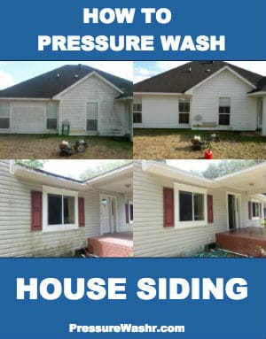 How To Pressure Wash a House To Clean Siding Intro Image