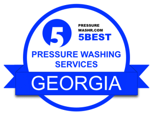 Pressure Washing Services Badge Georgia
