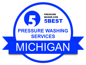 Michigan Pressure Washing Services Badge Michigan