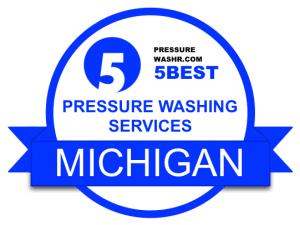 Michigan Pressure Washing Services Badge Michigan