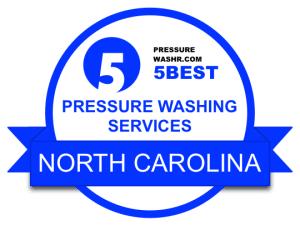 Pressure Washing Services Badge North Carolina