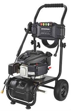 Simoniz 2600 PSI Gas Pressure Washer