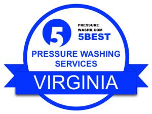 Virginia Pressure Washing Services Badge
