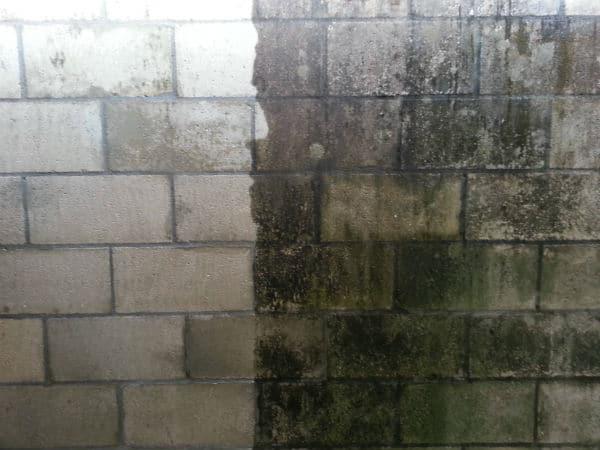 Pressure Wash Brick House Siding