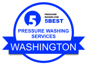Washington Pressure Washing Services Badge
