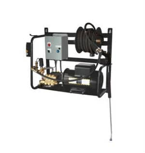 BE Pressure 2 GPM 1500 PSI Wall Mount Pressure Washer