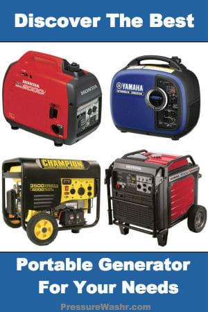 Best Portable Generator Reviews PressureWashr.com