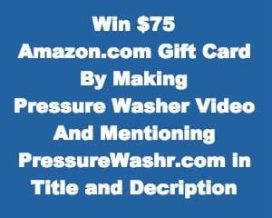 PressureWashr.com Contest