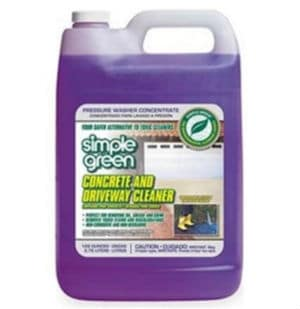 Simple Green 18202 Concrete and Driveway Power Washing Detergent