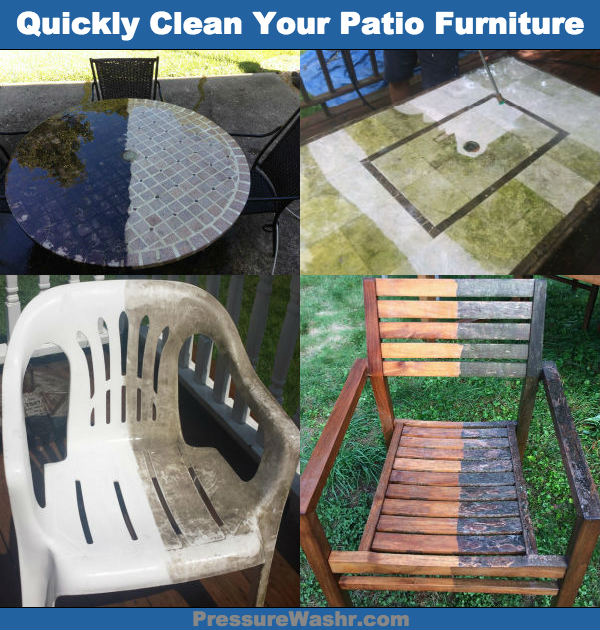 Spring Cleaning Patio Furniture Image