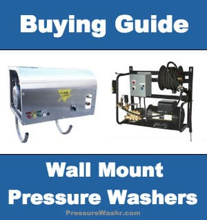 Wall Mount Electric Pressure Washers
