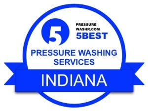 Indiana Pressure Washing Services Badge