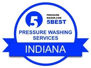 Indiana Pressure Washing Services Badge