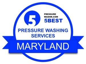 Maryland Pressure Washing Services Badge
