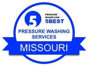 Missouri Pressure Washing Services Badge