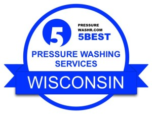 Wisconsin Pressure Washing Services Badge