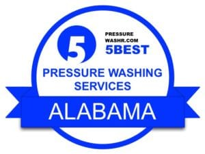 Alabama Pressure Washing Services Badge