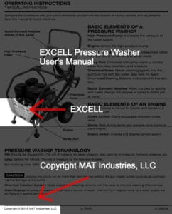 EXCELL Owned By MAT Industries Proof