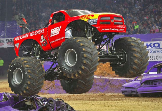 Hotsy Monster Truck
