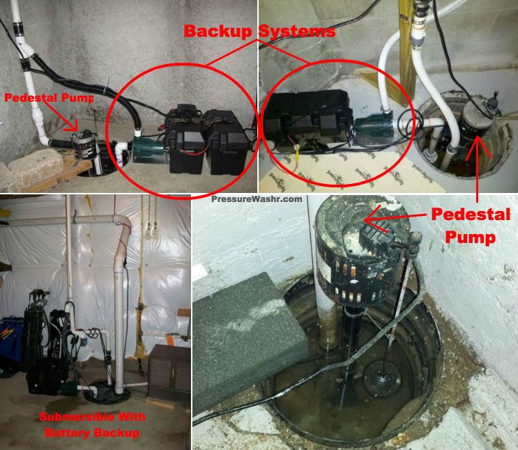 4 Examples of Sump Basin Setups