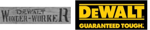 DeWalt Logo Then and Now