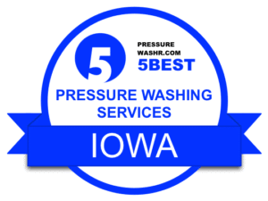 Iowa Pressure Washing Services Badge