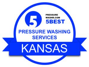 Kansas Pressure Washing Services Badge