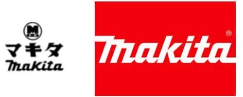 Makita Logo Then and Now